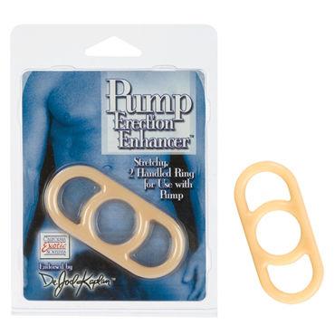 California Exotic Dr. Joel Kaplan Pump Erection Enhancers, телесное Эрекционное кольцо для использования с вакуумной помпой