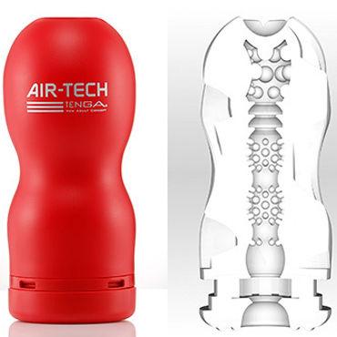 Tenga Air-Tech Regular Мастурбатор с классическим рельефом, создающий ощущение глубокого минета