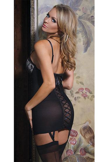 Coquette мини-платье Со шнуровкой на спине