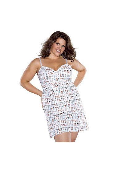 Coquette майка-платье С веселым принтом