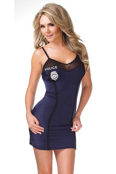 Coquette Police Обтягивающее платье с тонкими бретелями