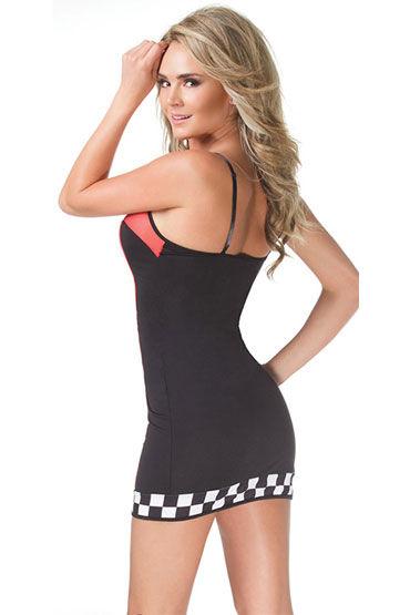 Coquette Stree Racer Платье-футляр с символикой гонщиков