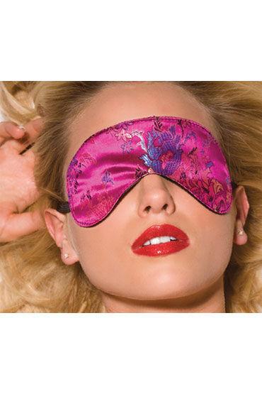 Allure Lingerie маска Розовая, на эластичной резинке