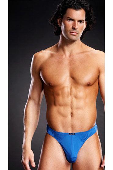 Blue Line мужские танга, Из микрофибры - Размер L-XL