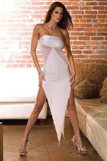 Electric Lingerie Sexy Corner, белый Сексапильное платье-бандо