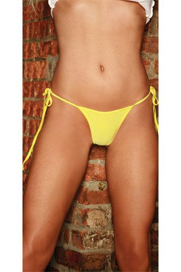 Electric Lingerie стринги, желтые Неоновые, на боковых завязках