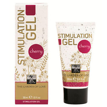 Shiatsu Stimulation Gel Cherry, 30мл, Стимулирующий гель с ароматом вишни