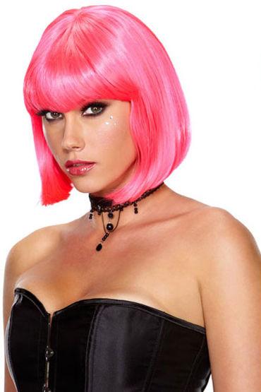 Erotic Fantasy Playfully Pink Неоново-розовый парик