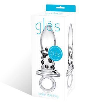 Glas Pacifier Пробка ручного изготовления