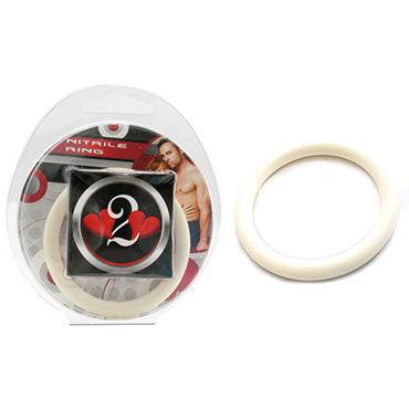 Lucom кольцо, белое Нитриловое эрекционное, 4 см
