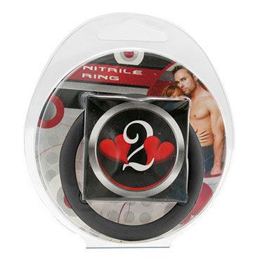 Lucom кольцо, черное Нитриловое эрекционное, 4,5 см