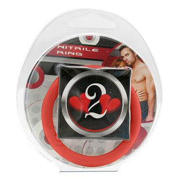 Lucom кольцо, красное Нитриловое эрекционное, 4,5 см