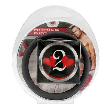 Lucom кольцо, черное Нитриловое эрекционное, 5 см