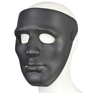 Lux Fetish Incognito, Черная маска из пластика