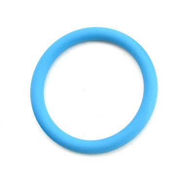 Lucom кольцо, голубое Из эластомера, 4,5 см