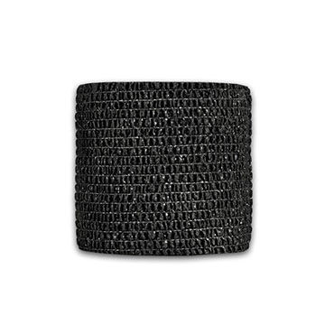 LuxLab лента, черная Перевязочная, широкая