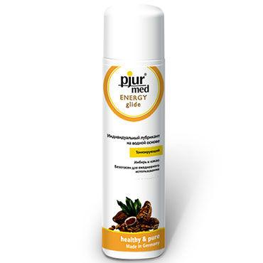 Pjur Med Energy Glide, 30 мл Тонизирующий лубрикант с имбирем и какао