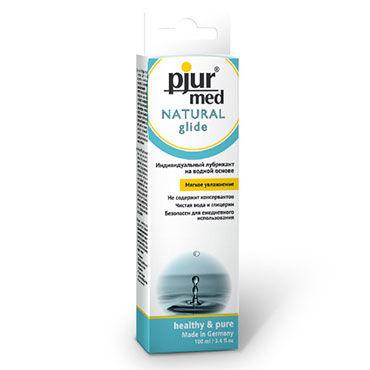 Pjur Med Natural Glide, 100 мл Увлажняющий лубрикант на водной основе