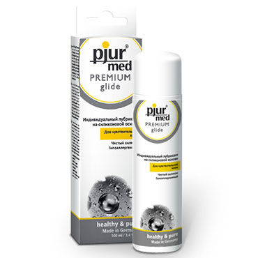 Pjur Med Premium Glide, 100 мл Гипоаллергенный силиконовый лубрикант
