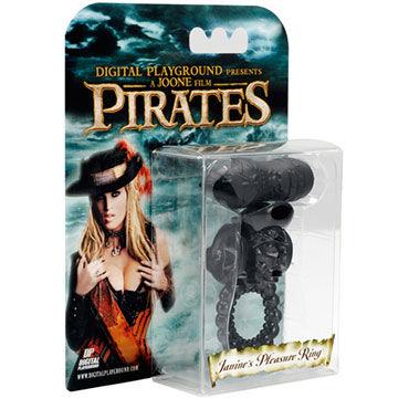 Digital Playground Janine's Black Plesure Ring кольцо С вибропулей