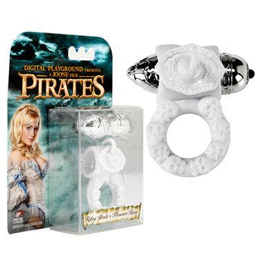 Digital Playground Riley White Pleasure Ring Невероятно стильное вибро кольцо