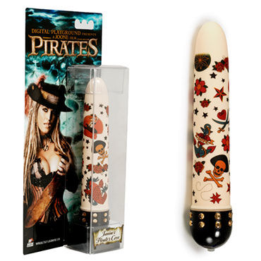 Digital Playground Janine's Pirates Cove Rocket вибратор Стильный дизайн