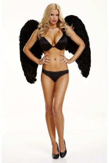 Electric Lingerie Dark Delight Крылья из натурального пуха и перьев