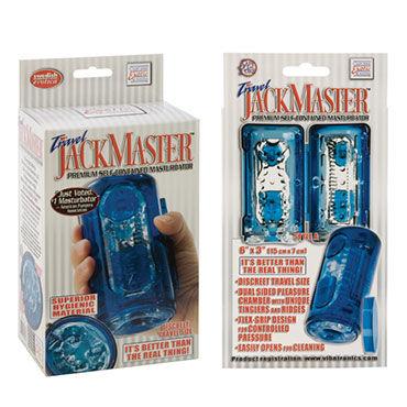 California Exotic Jack Master, синий Мастурбатор в пластиковой колбе