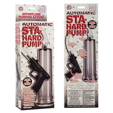 California Exotic Automatic Sta-Hard Pump Помпа с автоматической откачкой воздуха