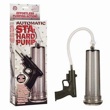 California Exotic Automatic Sta-Hard Pump, Помпа с автоматической откачкой воздуха
