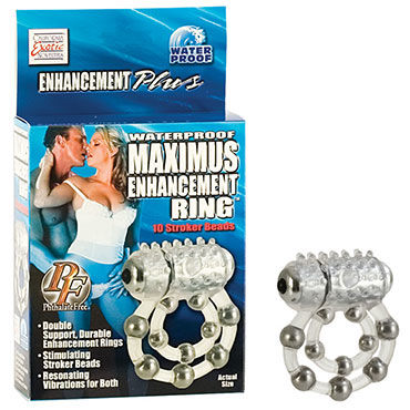 California Exotic Maximus Ring 10 Stroke Beads, ����������� ������ � ��������������