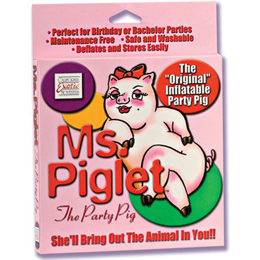 California Exotic Ms. Piglet Party Pig, �������� �����-������
