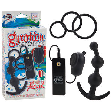 California Exotic Gyration Sensations Gyrating Pleasure Kit, ����������� �����