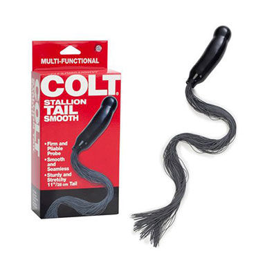California Exotic Colt Stallion Tail Smooth, Анальный фаллос с хвостиком