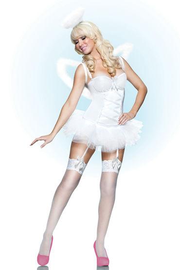 Seven til Midnight Ангел, Сексапильный наряд с крыльями в комплекте - Размер S от condom-shop.ru