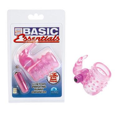 California Exotic Basic Essentials, Насадка на пенис с вибро-зайчиком