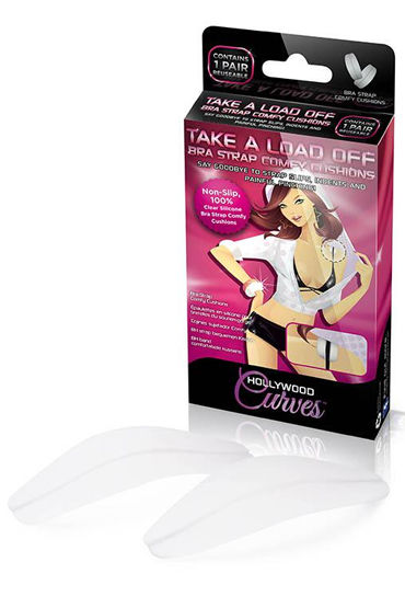 Hollywood Curves Bra Strap Comfy Cushions Подушечки под бретели brilliant hollywood 47880 06