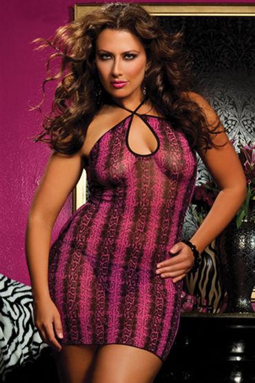 Seven til Midnight мини-платье, С красивым принтом - Размер Универсальный плюс (XL-XXXL)