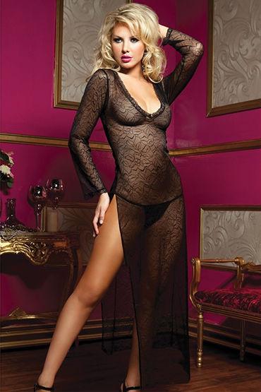 Длинное платье с трусиками