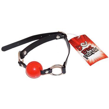 Erotic Fantasy Ballgag, черно-красный, Кляп с силиконовым шаром