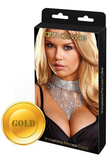 Ann Devine Queen, золотой, Шикарное ожерелье