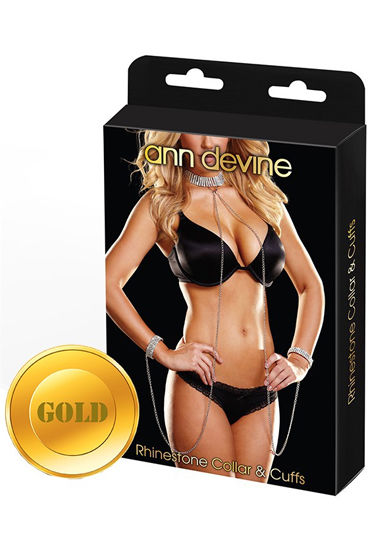 Ann Devine Love Slave, золотой, Ожерелье и браслеты