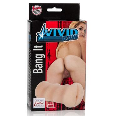 California Exotic Vivid Raw Bang It Ass, телесный Компактный мастурбатор, анус