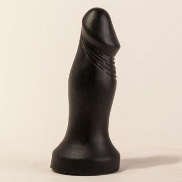 Bioclon Анальный стимулятор, черный В форме пениса