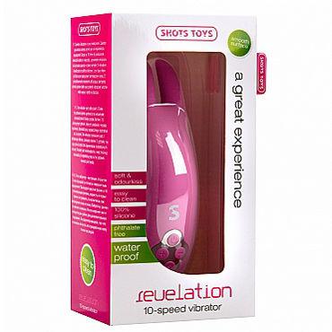 Shots Toys Revelation, розовый Вибростимулятор с двумя гребнями