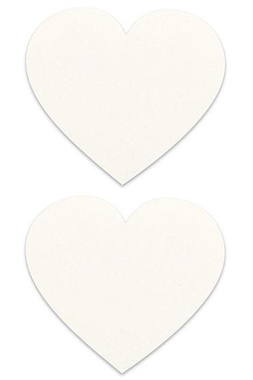 Shots Toys Nipple Sticker Hearts, �����, ������� � ����� ��������