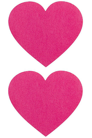 Shots Toys Nipple Sticker Hearts, �������, ������� � ����� ��������
