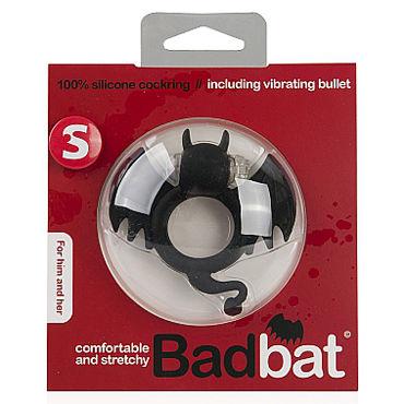Shots Toys Bad Bat Эрекционное виброкольцо в виде летучей мыши