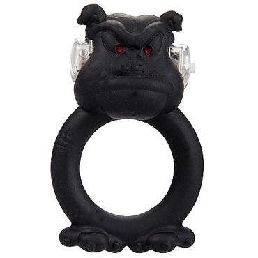 Shots Toys Barbaric Bulldog Эрекционное виброкольцо в виде бульдога
