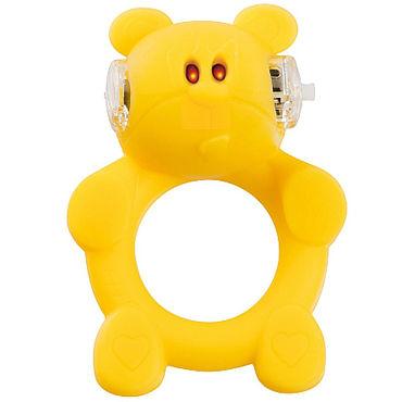 Shots Toys Brutal Bear Эрекционное виброкольцо в виде медведя
